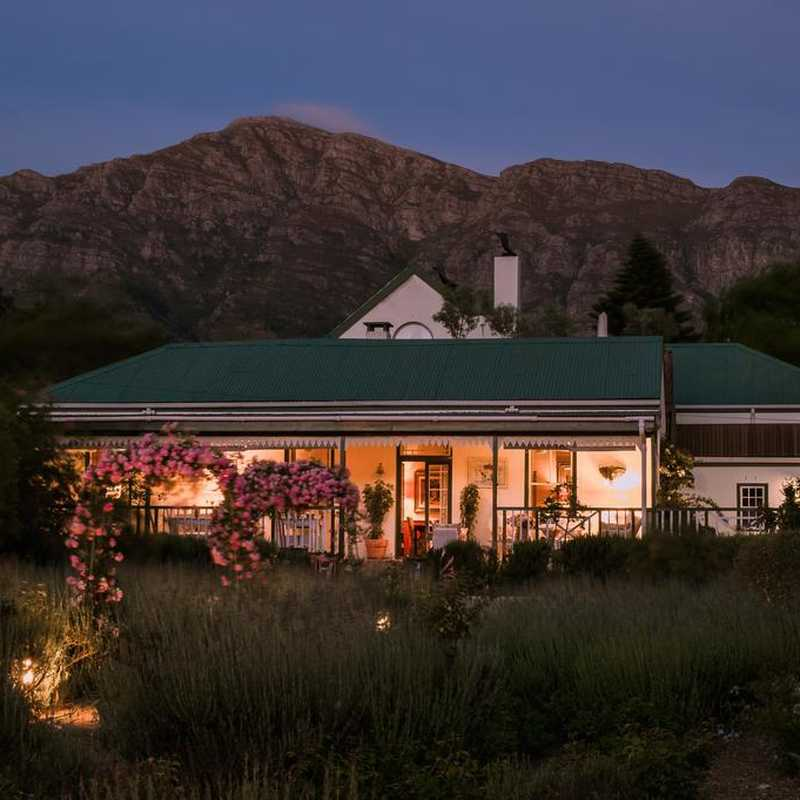 Klein oliphants hoek boutique hotel in franschhoek for Kleine boutique hotels